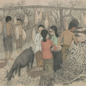 cheong soo pieng drying salted fish thumbnail