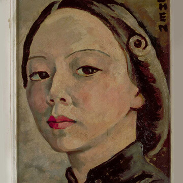 georgette chen self portrait 1946 thumbnail